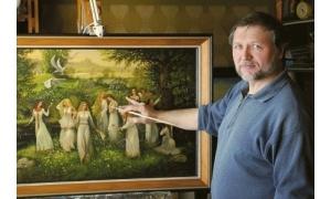 Март-апрель 2018 г.  Состоялась выставка картин Александра Угланова, Русского  художника-Славяниста.