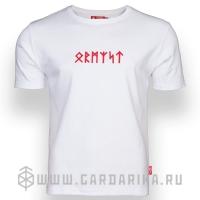 """""""РУНЫ"""" ФУТБОЛКА С ВЫШИВКОЙ"""