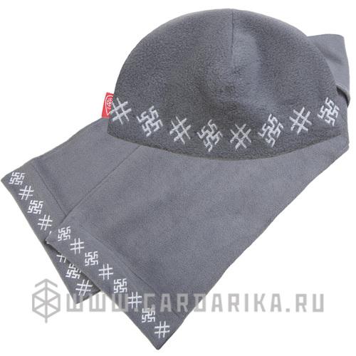 "КОМПЛЕКТ ""ОБЕРЕЖНЫЙ"": ШАПКА + ШАРФ 150 см."